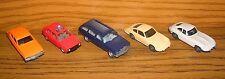 Wiking Sammlung VW Golf Ford Capri Mercedes 250 T Porsche 911