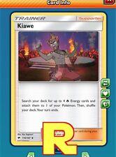 2x Kiawe -  for Pokemon TCG Online (ptcgo in Game Card)