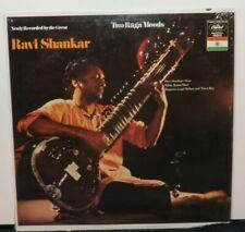 RAVI SHANKAR TWO RAGA MOODS (VG+) T-10482 LP VINYL RECORD