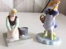 Disney Porcelain Ornaments - Sleeping Beauty & Cinderella