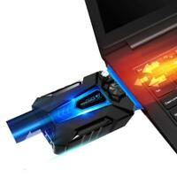 5V USB Mini Vacuum Laptop CPU Cooler Silent Air Extracting Exhaust Cooling Fan