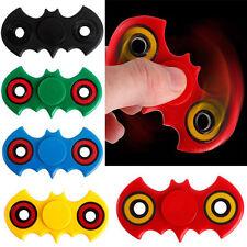Adult Kid 3D Bat Hand Spinner Fidget Tri-Spinner Ceramic Ball Focus Desk Toy New
