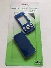 Sony Ericsson W580 Full Fascia Housing Cover Front Back Case Keypad Blue