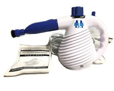 "H2O Handheld Steamer, Portable Steamer Cleaner White and Blue  ""Works"""