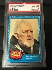 1977 Topps Star Wars #6 Ben Obi Wan Kenobi Graded PSA 8