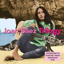 Joan Baez Vol.1/Vol.2/Folk Singers 'Round Harvard Square 3-CD NEW SEALED