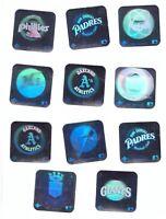 1990 Upper deck Team Hologram sticker You pick 2
