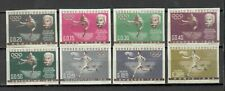 S27112) Paraguay 1963 MNH Olympic History 8v Imperforated