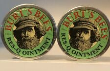 Burt's Bees Res-Q Ointment 0.6 oz(15g) Tins (Pack of 2)