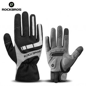 Toutch Screen Cycling Gloves Winter Warm Walking Skiing Sport Anti Slip Thermal