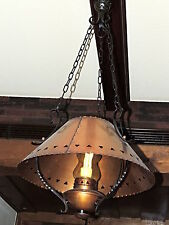 Markenlose Deckenlampen & Kronleuchter im Landhaus-Stil aus Eisen