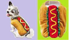 "PetCo""Bootique""Hot Diggity""Dog Costume Large NEW Hotdog Bun Summer Labor Day"