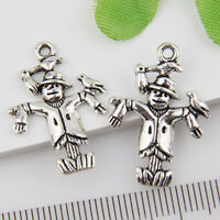 30pcs Zinc Alloy Needle and thread charms 15x12mm 1A488