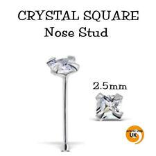 Body piercing naso in argento CZ