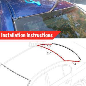 For BMW E39 525i 528i 530i 540i M5 Windshield Seal Moulding Trim Rear Upper