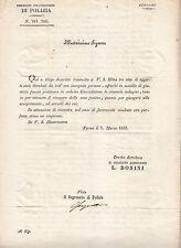 Y505-STATO PONTIF.MARCHE FERMO CICOLARE POLIZIA FURTI FABRIANO-SERMONETA-FERMO