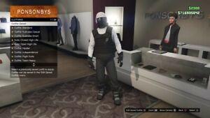 Compte lobby gta5 PS4/Xbox one