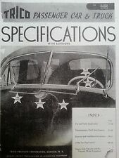 1931-1946 Trico Wiper Motors & Parts Illustrated 1946 Catalog