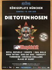 DIE TOTEN HOSEN - ROCKAVARIA 2018 - orig.Concert Poster - Konzert Plakat  A1 NEU