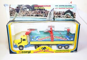Corgi 1164 Berliet Dolphinarium Truck In Its Original - Mint Vintage Model 1980