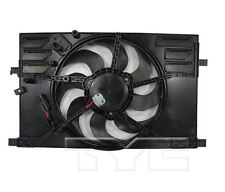 TYC 623740 Rad&Cond Fan Assy for Jeep Renegade/Ram Promaster City 2.4L 2015-2017