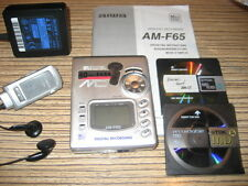 Aiwa AM-65 Silber Minidisc Player - Recorder  + Sony  Netzteil + 2 TDK MD