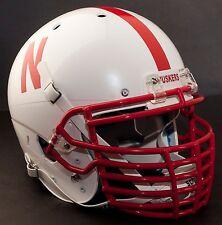 NEBRASKA CORNHUSKERS Football Helmet FRONT TEAM NAMEPLATE Decal/Sticker HUSKERS