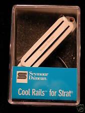 Seymour Duncan Cool Rails Strat  SCR-1B Bridge White  11205-08-w