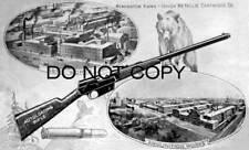 Antique Repro Photo Advertising Print Remington Model 8 Autoloading Rifle