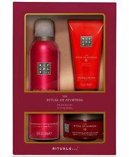 Ritual Of Ayurveda 3 Piece Set Indian Rose Bath Shower Gel Body Scrub Body Cream