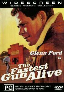 The Fastest Gun Alive DVD Glenn Ford  New and Sealed Australia