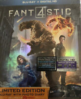 Fantastic Four 4 Limited Edition Photo Diary Blu-Ray Target Exclusive