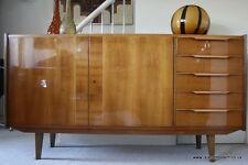 Rare Mid Century 1950s Ash Sideboard Dresden Cabinet Werkstätten Hellerau German