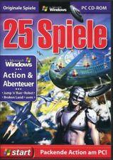 25 juegos acción & AVENTURA PC USADO