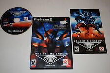 Zone of the Enders Sony Playstation 2 PS2 Video Game Complete
