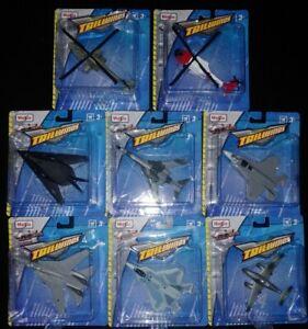 Maisto 15088 1:87 Fresh Metal Tailwinds Aircraft Assortment (Set of 8)
