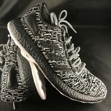28aefd61490fc NEW ADIDAS PURE BOOST LTD OREO RUNNING SHOES S80704 BLACK WHITE mens 8 US