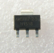 50PCS AMS1117-2.5 AMS1117 LM1117 2.5V 1A SOT-223 Voltage Regulator IC NEW
