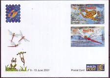 Briefmarken-Ganzsachen aus Malta