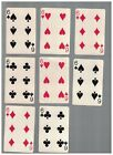 8 - C1937 Chesapeake And Ohio Lines Swap Playing Cards -  SIXES With Chessie