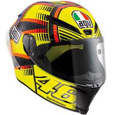 AGV FULL FACE HELMET PISTA GP E2205 TOP PLK-W SOLELUNA QATAR 2015 SIZE L