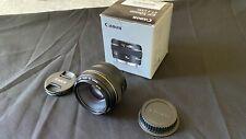 Canon EF 50mm F/1.4 USM Standard and Medium Telephoto Lens - Full Frame
