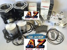 Banshee Stock Cylinders Pro Design Cool Head & Domes Wiseco Pistons Top Rebuild