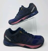 Reebok Women's Crossfit Nano 05 Shoes Kevlar CR5FT dark blue Sz 10