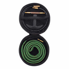 Gun Bore Cleaner Snake Brush Barrel Rope Cleaning Kit for Rifle .22 Caliber