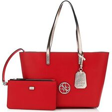 GUESS Lipstick Multi Jolie Tote + Wristlet **Brand New with Tag** Bag Pochette