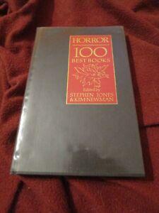Horror: 100 Best Books SIGNED limited Terry Pratchett Neil Gaiman Harlan Ellison