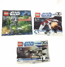 Star Wars Lego Ship Kits Bag Sets Figure Stocking / Party Bag Filler 3 pack lot