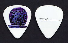 Nickelback Ryan Peake Signature White Guitar Pick - 2010 Dark Horse Tour