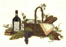 2 pcs Wicker Basket Wine Grapes 4